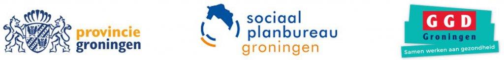 logo Provincie Groningen, Sociaal Planbureau Groningen en GGD Groningen