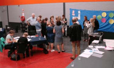 Deelnemers bijeenkomst Werksessie informele zorg aan het werk