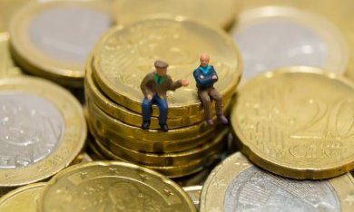 Burgers discussiëren over geld
