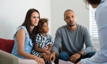 consulent met gezin
