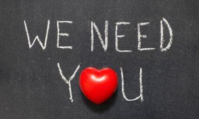 Oproep We need you