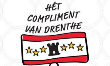 Deel van het logo Hét compliment van Drenthe