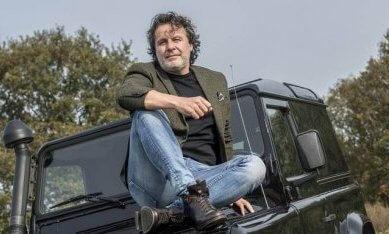 Jan Schutrups, initiatiefnemer van een schoenenfabriek in Drenthe