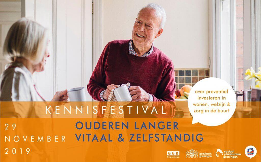 header Kennisfestival ouderen langer vitaal & zelfstandig