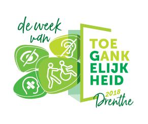 logo Week van de Toegankelijkheid 2018 Drenthe