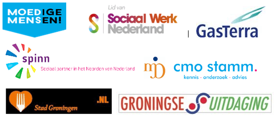 logo's samenwerkingspartners Moedige Mensen