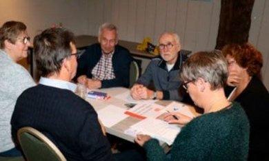Overleg van vrijwilligers