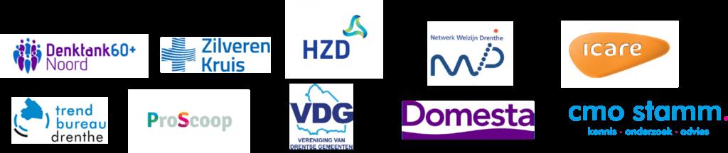 logo's van de partnerorganisaties