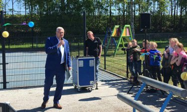 Opening playground Poppehare Coevorden