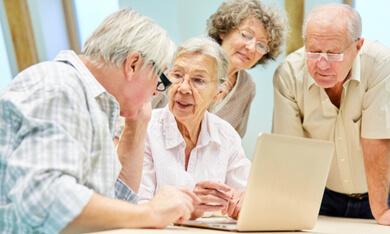 ouderen in gesprek