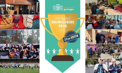 genomineerden vrijwilligersprijs Groningen 2021